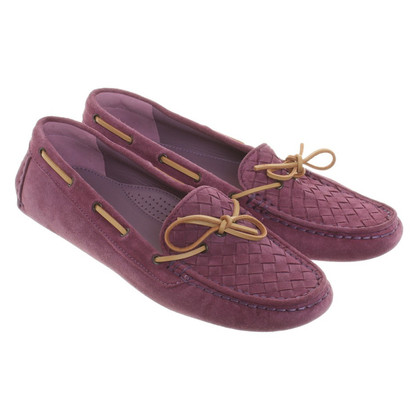 Bottega Veneta Suede Slippers