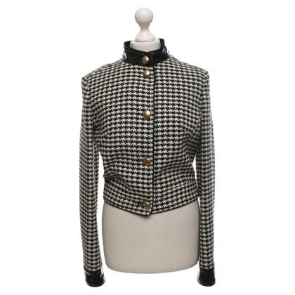 D&G Vest met houndstoothpatroon