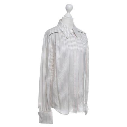 Rena Lange Silk blouse with pattern