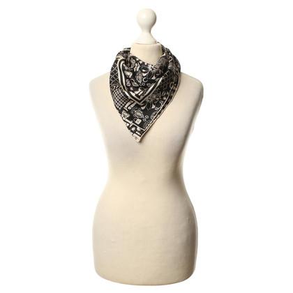 Gucci zwart/witte sjaal
