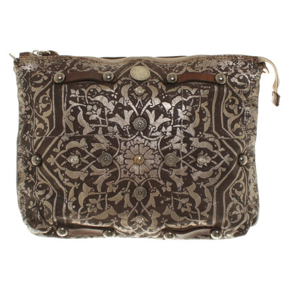 Campomaggi Shoulder bag with pattern