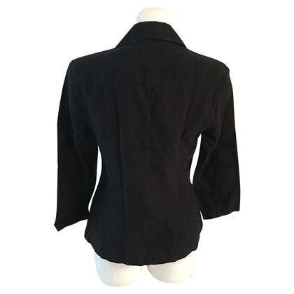 Windsor Bluse in Schwarz