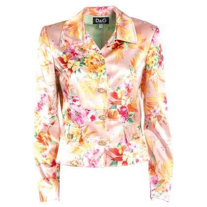D&G Floral fancy jas