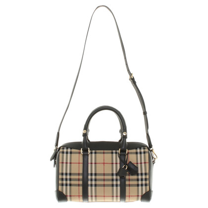 "Burberry ""Alchester Armor Bowling Bag"" in Bicolor"