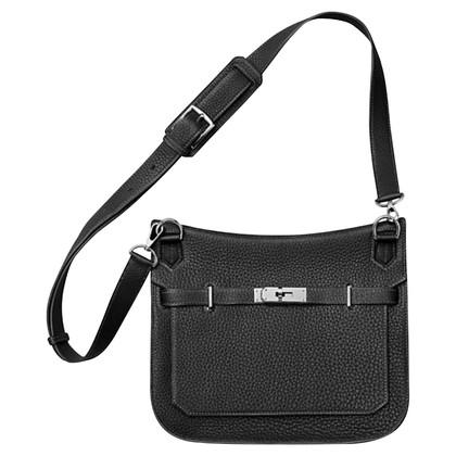 """Hermès """"Jypsière 28 Clémence Leather Noir"""""""