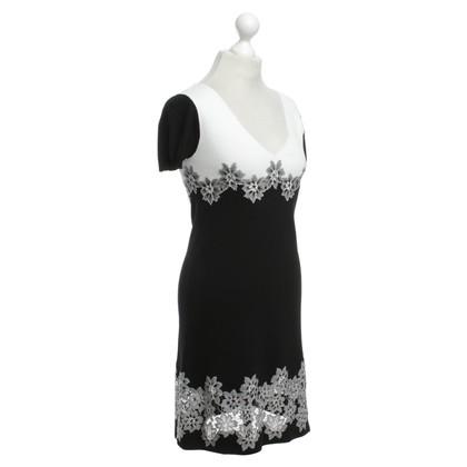 Twin-Set Simona Barbieri Dress in black / white