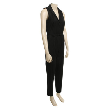 Equipment Jumpsuit in Schwarz