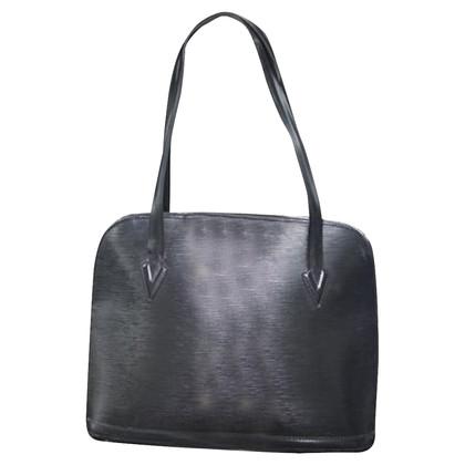 Louis Vuitton Sac handbag Louis Vuitton Lussac black epi