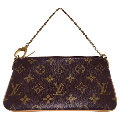 "Louis Vuitton ""Milla Pochette MM Monogram Canvas"""