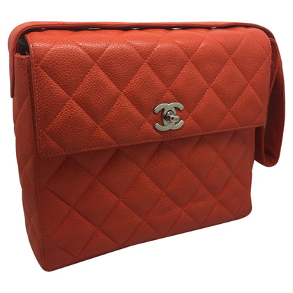 Chanel in pelle di caviale Flap Bag