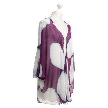 Diane von Furstenberg Tuniek met batikpatronen