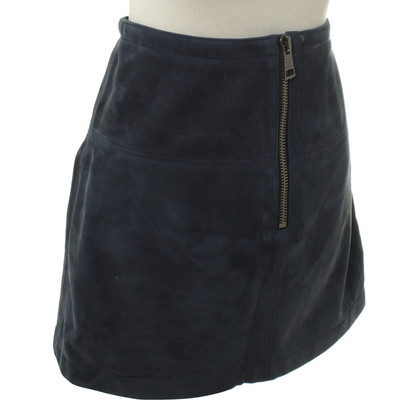 Burberry Mini skirt made of lamb suede
