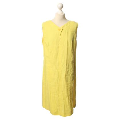 Riani Gelbes Leinenkleid