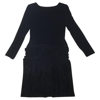 Oscar de la Renta Fluwelen jurk