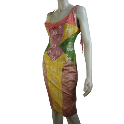 Gianni Versace Sommerkleid in Multicolor