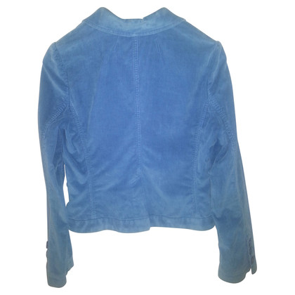 Marc by Marc Jacobs Velluto a coste blu Royal Blazer