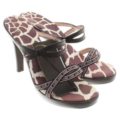Just Cavalli Sandals in wood look