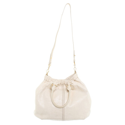 Miu Miu Leather handbag purse cream white