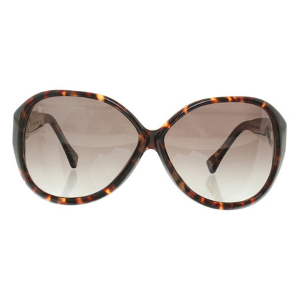 Louis Vuitton Sonnenbrille mit Schildpattmuster