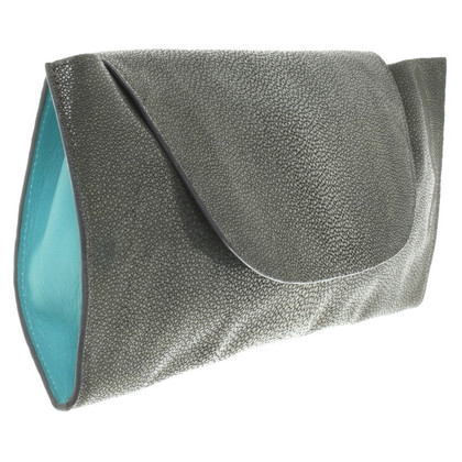 Lili Radu clutch made of stingray leather