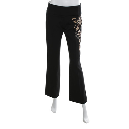 Karen Millen trousers with embroidery
