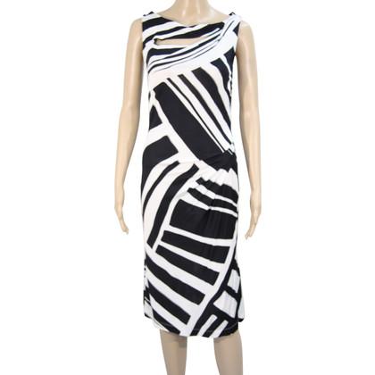 L.K. Bennett Dress in black and white