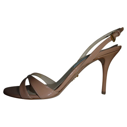 Prada Nudefarbene Sandals