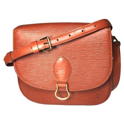 Louis Vuitton Saint Cloud MM EPI leder Brown