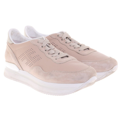 Hogan Beigefarbene Sneakers
