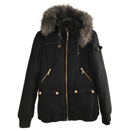 Juicy Couture Winter jas met bont kraag