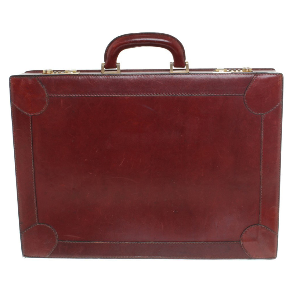 Aigner Leather Briefcase