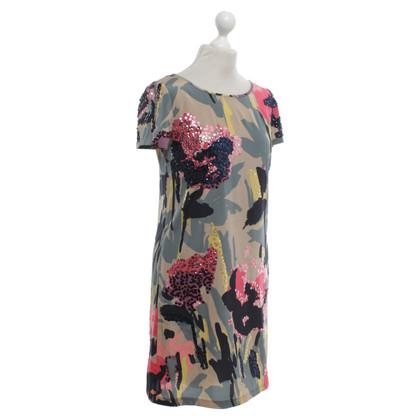 DKNY Silk dress with pattern