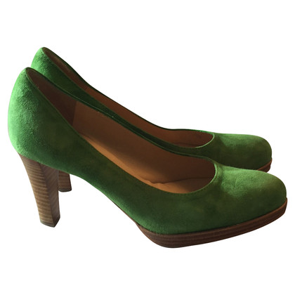 Konstantin Starke Suede Pumps in Green