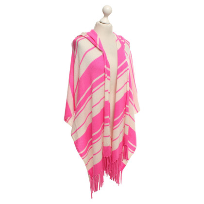 Andere Marke The Holygoat - Kaschmirponcho in Beige/Pink