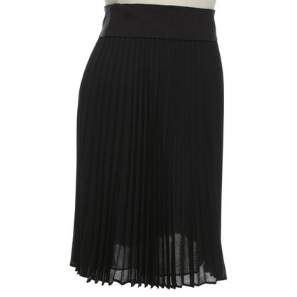 Akris skirt with pleated-pleats