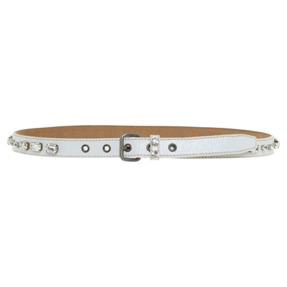 Miu Miu Belt in white