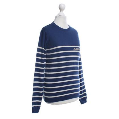 Altre marche Maison Labiche - Jumper in blu / bianco