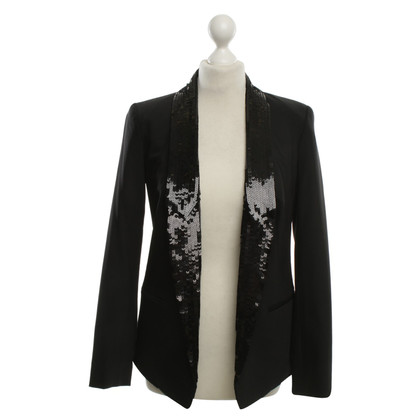 Michael Kors Paillettes Blazer in Black