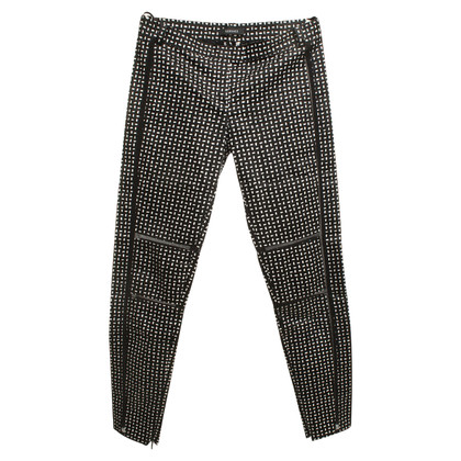 Versace trousers with graphical pattern