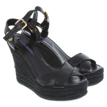 Ralph Lauren Black Label Sandalen in zwart