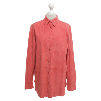 Jil Sander Leather shirt blouse