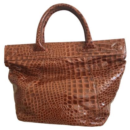 Borbonese leather bag
