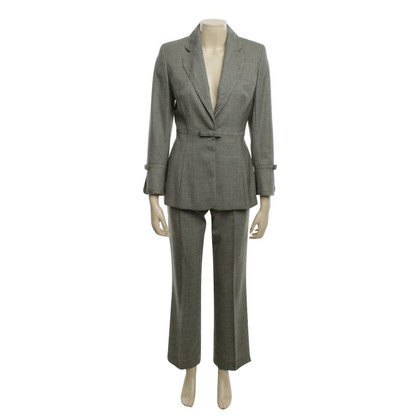 Escada Gray trousers suit