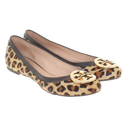 Tory Burch Ballerina's Leopard