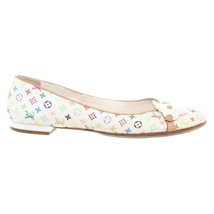 Louis Vuitton Ballerina's van Monogram Multicolore Canvas