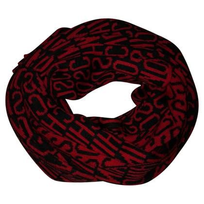 Moschino Errore di battitura-stampa sciarpa