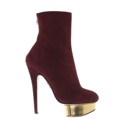 Charlotte Olympia Ankle boots with plateau