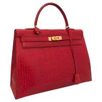 """Hermès """"Kelly Bag 35"""" made of alligator leather"""