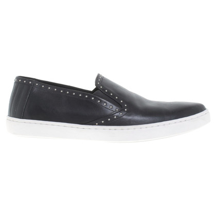 Iro Slipper in black