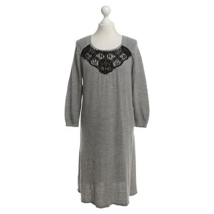 Vanessa Bruno vestito lavorato a maglia in grigio